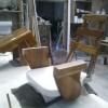Custom Built Helm Chair