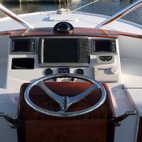 39 foot Express Sportfishing Boat console