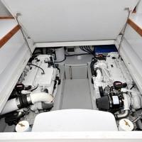 39 foot Express Sportfishing Boat engine