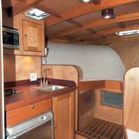 39 foot Express Sportfishing Boat galley