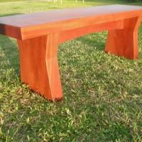 Mahagony bench