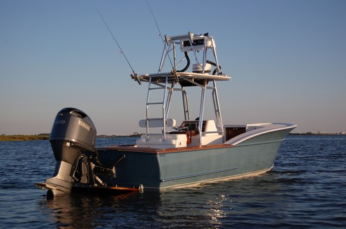 28′ – 29.5′ Custom Center Console Sportfisher