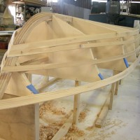 17.5 flats skiff construction 9