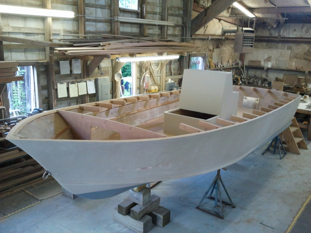 22' center console  with console