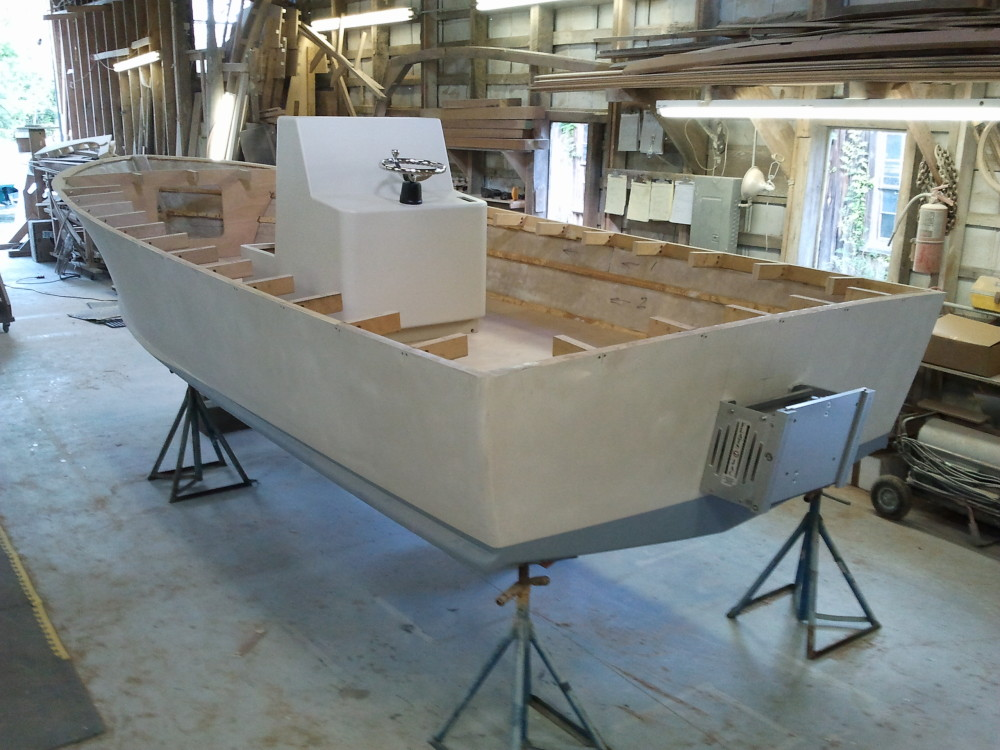 Building a center console carolina style boat