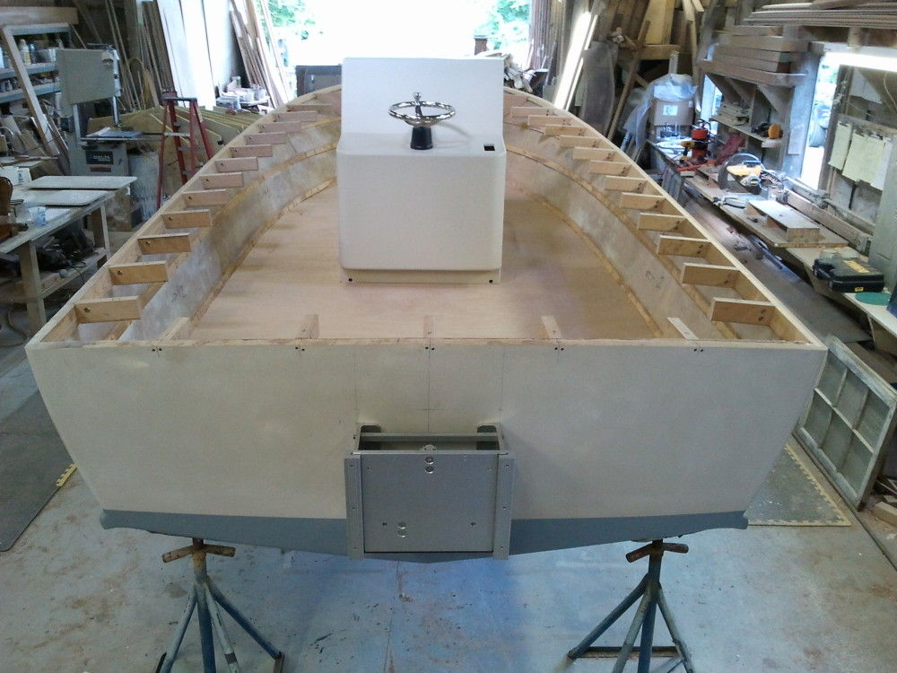 22' center console - lookouts