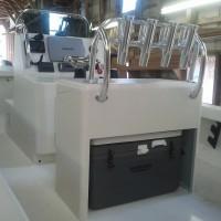 Harrison Boatworks 22' center console 25