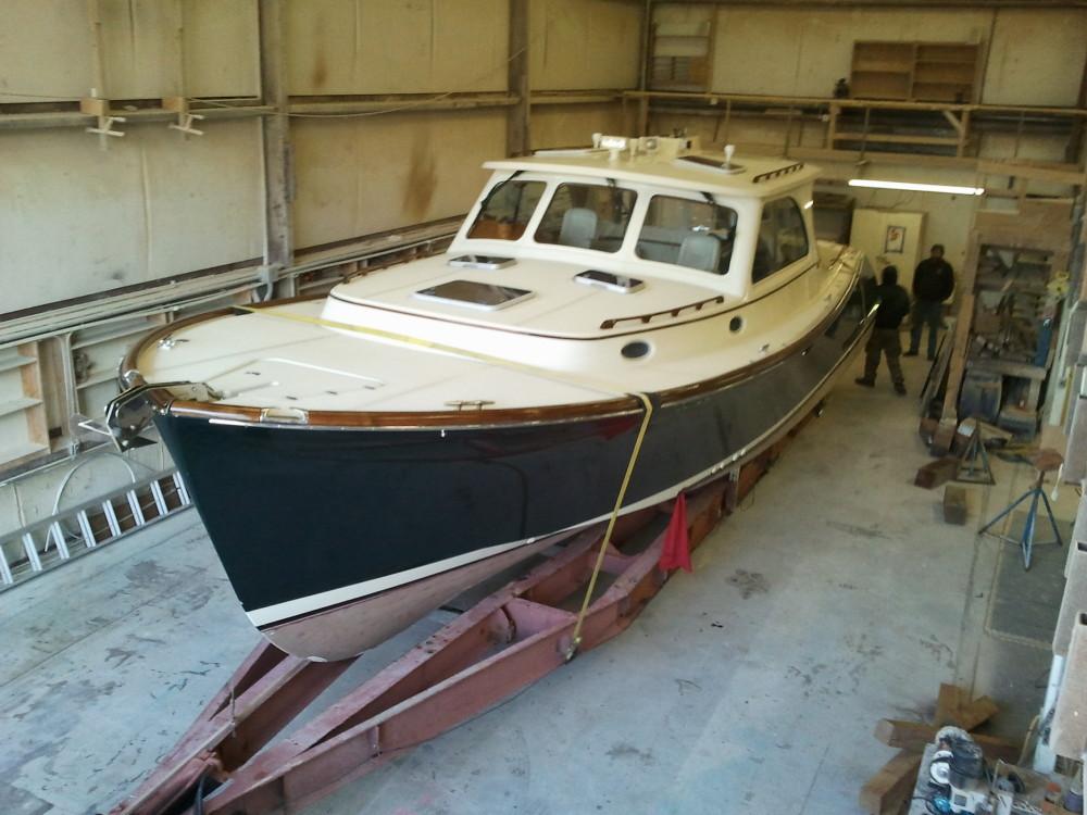 Harrison Boatworks projects -Hinckley refurbish