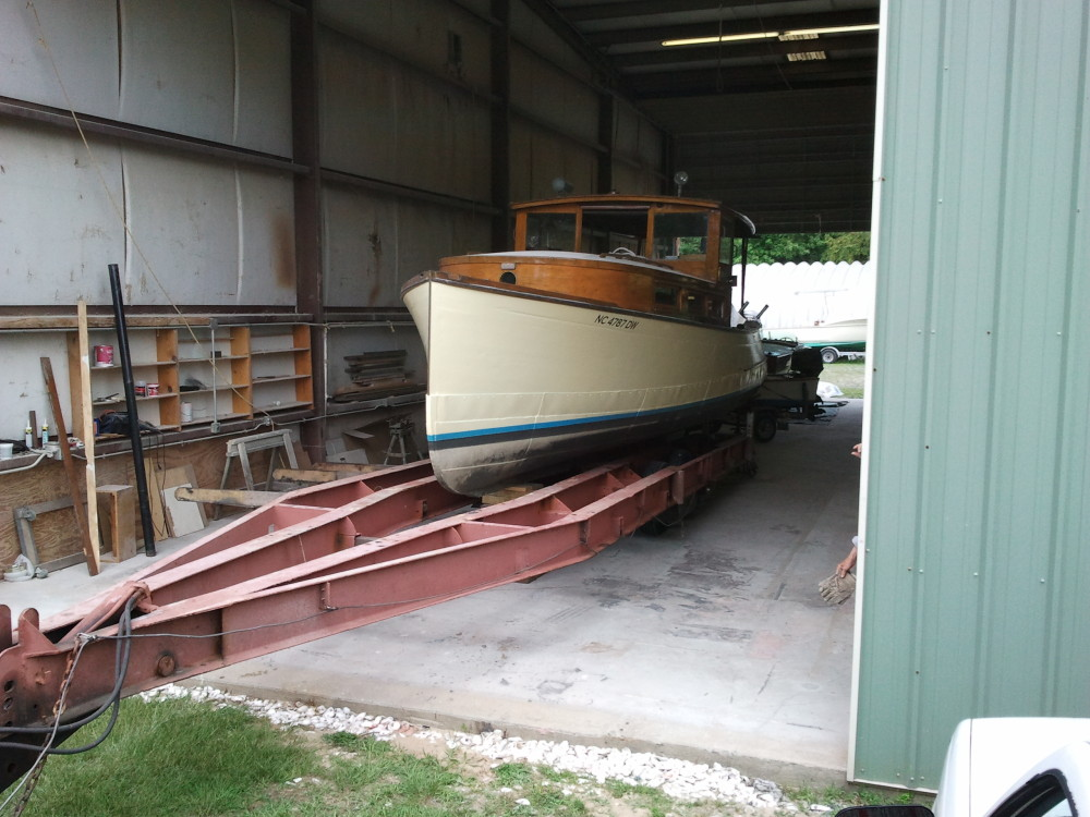 1929 Richardson at Harrison Boatworks