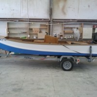If you live in North Carolina there's a real good chance you've seen a boat similar to this one. Harrison Boatworks redid the interior of this boat, i.e., custom console, added casting decks fore and aft, all finished britework and engine and steering installation.