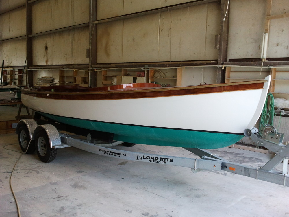 22' Budsin Woodcraft Electric Launch
