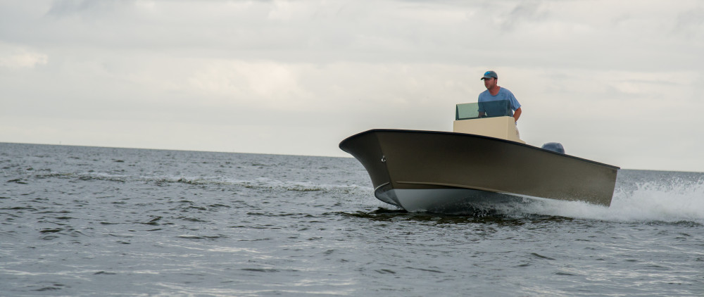 Harrison Boatworks 19' Tunnel Skiff
