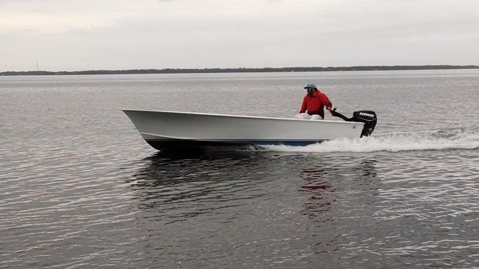 Buddy Creef 19' Tunnel Skiff