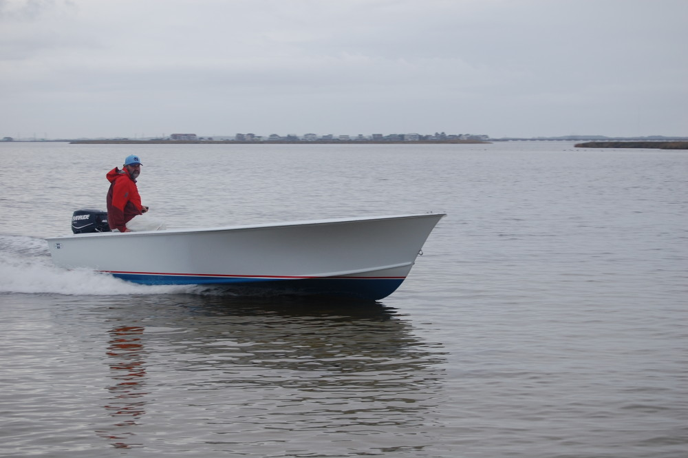 New 19′ Tunnel Skiff