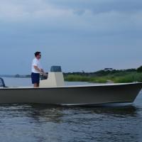 shallow-draft skiff