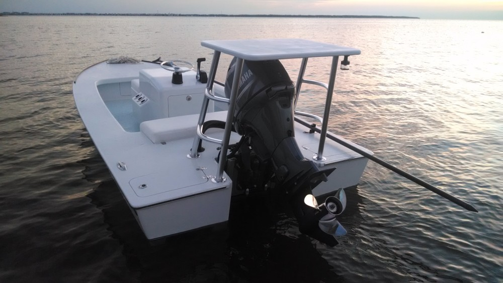 Outer Banks Custom Boats, Custom Flats Boat
